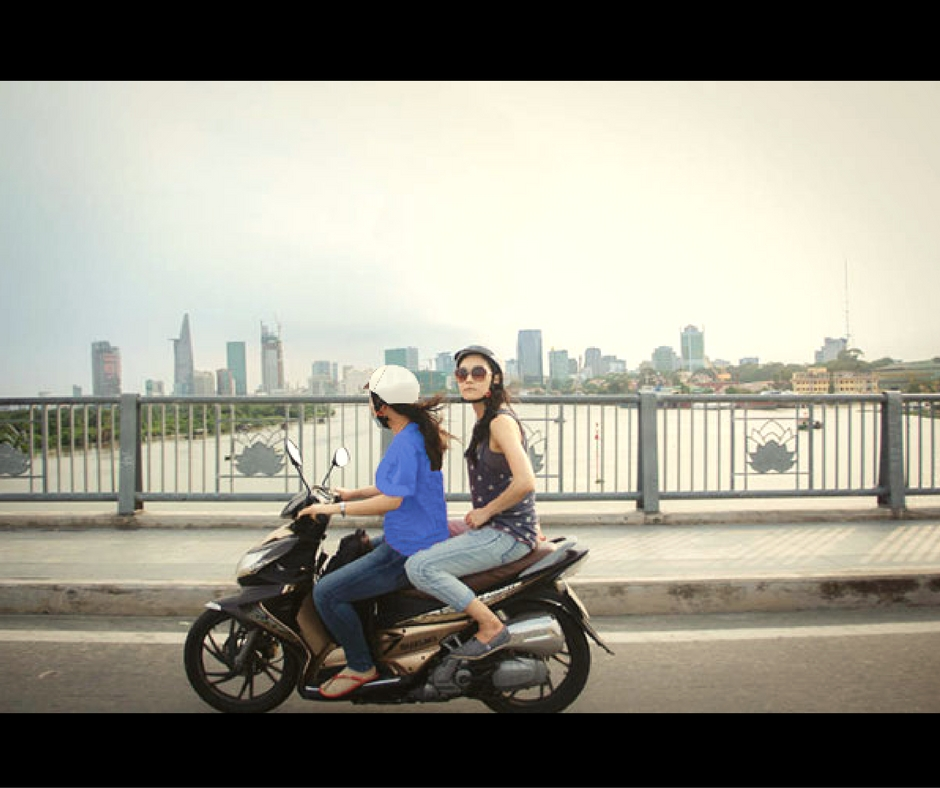 Saigon Photo on Moto (45USD)